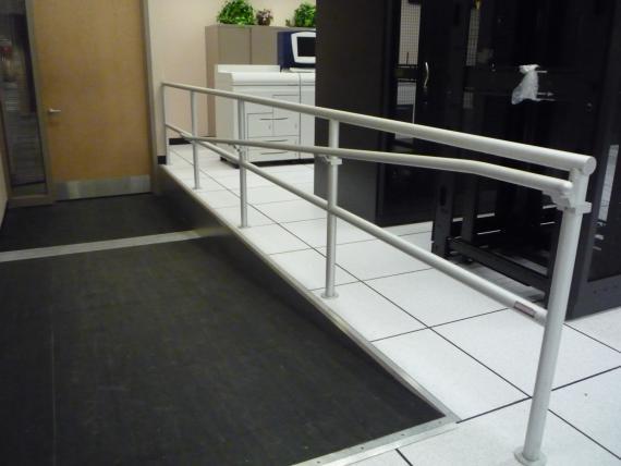 Custom Ramps Railings Raised Access Floors Access Floor Panels - Data center raised floor weight limits