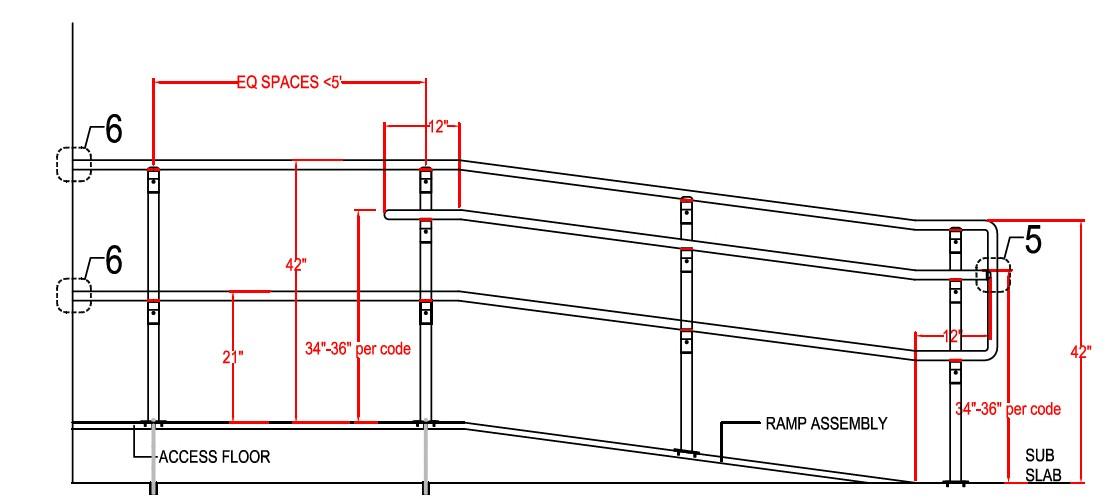 Custom Ramps & Railings | Raised Access Floors | Access Floor Panels